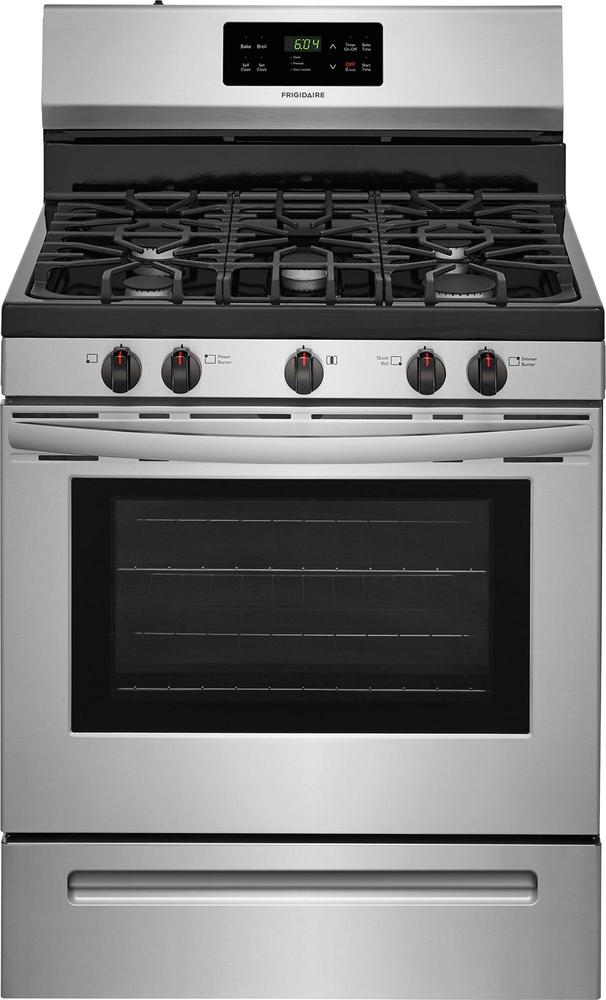 Frigidaire Self-Cleaning Freestanding Gas Range Stainless steel FFGF3054TS