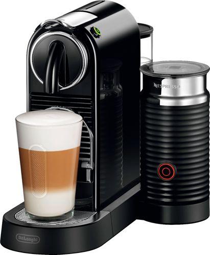 Nespresso - CitiZ & Milk Espresso Maker/Coffeemaker - Black 5857409