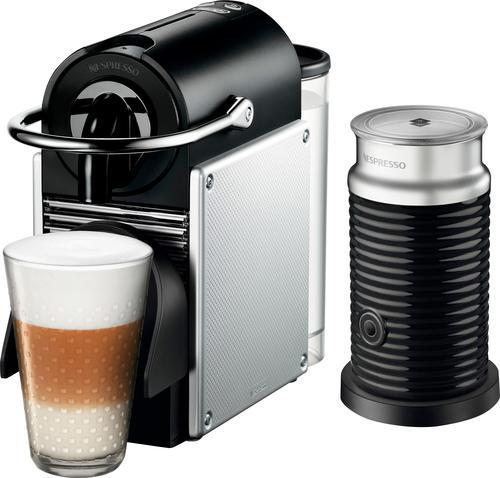 Nespresso - Espresso Maker/Coffeemaker/Milk Frother - Black/silver 5857410