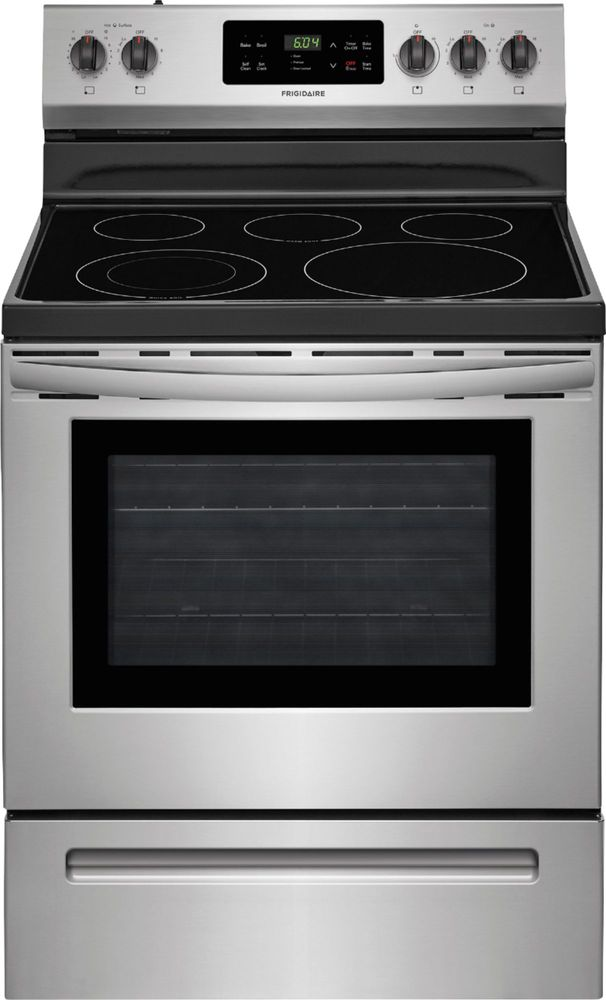 Frigidaire Self-Cleaning Freestanding Electric Range Stainless steel FFEF3054TS