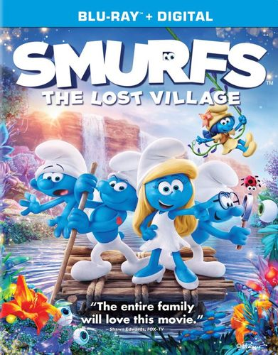 Smurfs: The Lost Village [Includes Digital Copy] [UltraViolet] [Blu-ray] [2017] 5859003