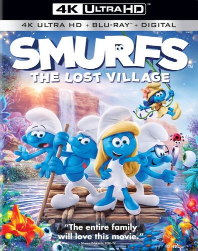 Smurfs: The Lost Village [Includes Digital Copy] [UltraViolet] [4K Ultra HD Blu-ray] [2 Discs] [2017] 5859004