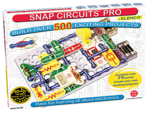 Elenco - Snap Circuits 500-in-1 Building Kit 5859569