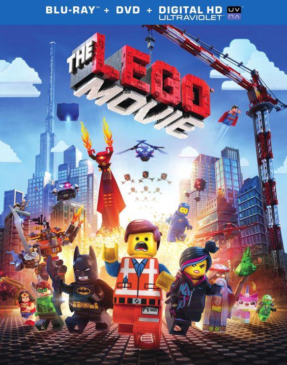 The LEGO Movie [2 Discs] [Includes Digital Copy] [UltraViolet] [Blu-ray/DVD] [2014] 5863038