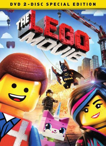 The LEGO Movie [2 Discs] [Special Edition] [Includes Digital Copy] [UltraViolet] [DVD] [2014] 5863056