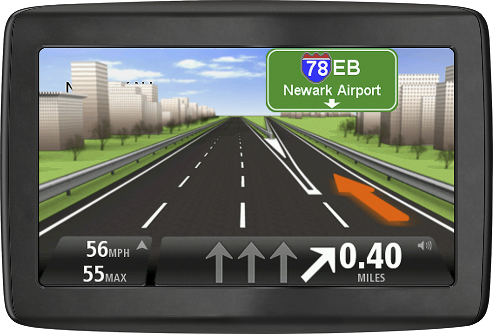 TomTom VIA 1415M GPS with Lifetime Map Updates BlackGray