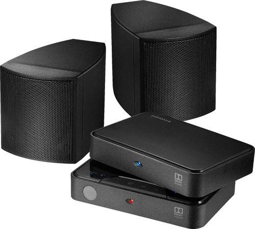 Insignia NS-HURSK18 Universal Wireless Rear Speaker Kit, Black