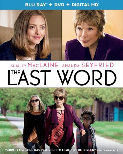The Last Word [Includes Digital Copy] [UltraViolet] [Blu-ray/DVD] [2 Discs] [2017] 5865305