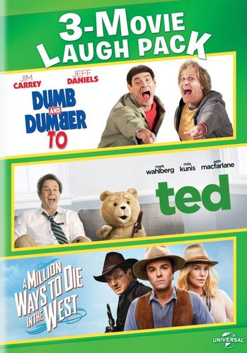 Dumb and Dumber To/Ted/A Million Ways to Die in the West [DVD] 5866905