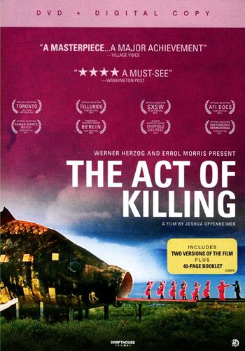 The Act of Killing [2 Discs] [DVD] [2012] 5867007