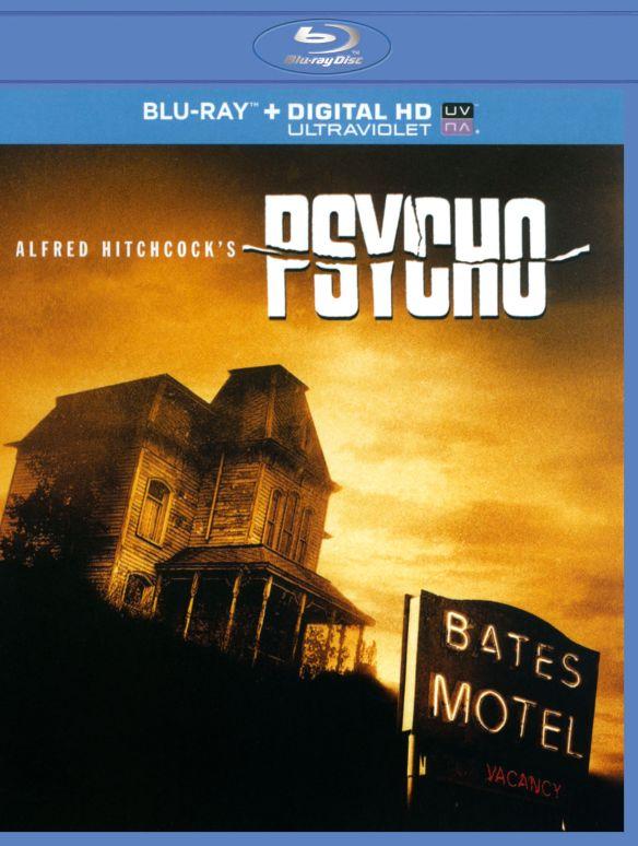 Psycho [Includes Digital Copy] [UltraViolet] [Blu-ray] [1960] 5867034