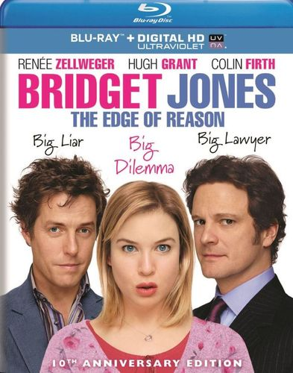 Bridget Jones: The Edge of Reason [Includes Digital Copy] [UltraViolet] [Blu-ray] [2004] 5867098