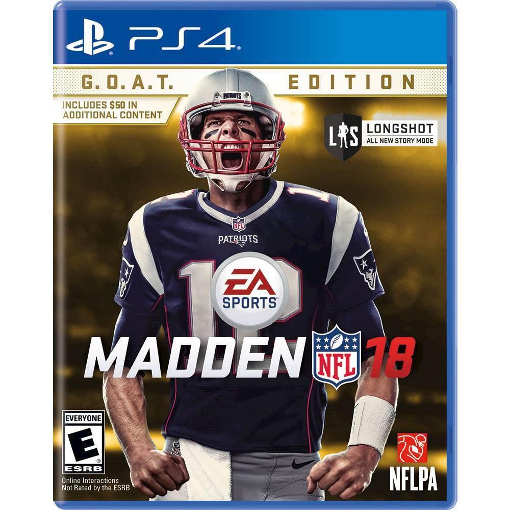 Madden NFL 18 G.O.A.T. Edition – PlayStation 4