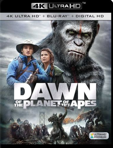 Dawn of the Planet of the Apes [4K Ultra HD Blu-ray] [2 Discs] [2014] 5868505