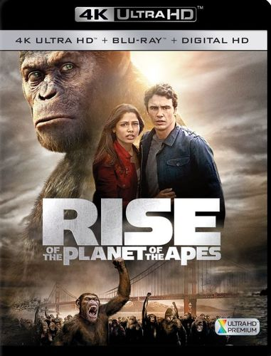 Rise of the Planet of the Apes [4K Ultra HD Blu-ray] [2 Discs] [2011] 5868506