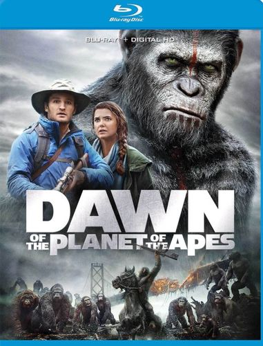 Dawn of the Planet of the Apes [Blu-ray] [2014] 5868508