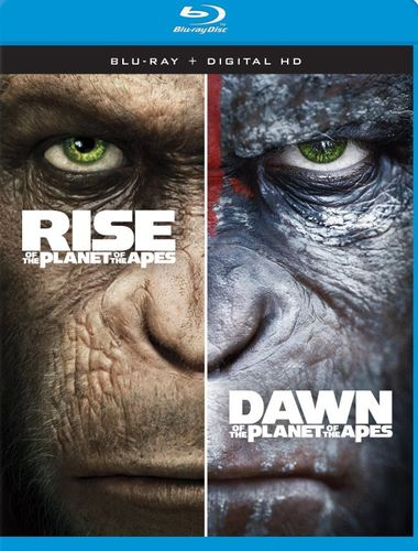 Rise of the Planet of the Apes/Dawn of the Planet of the Apes [Blu-ray] 5868509