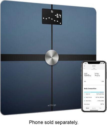 Nokia - Body+ Body Composition Wi-Fi Scale - Black