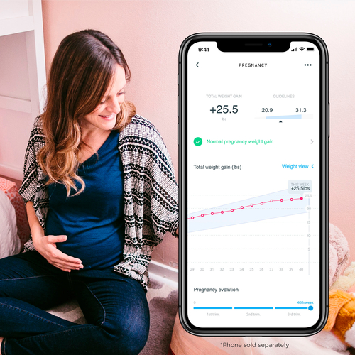 Nokia - Body BMI Wi-Fi Scale - Black