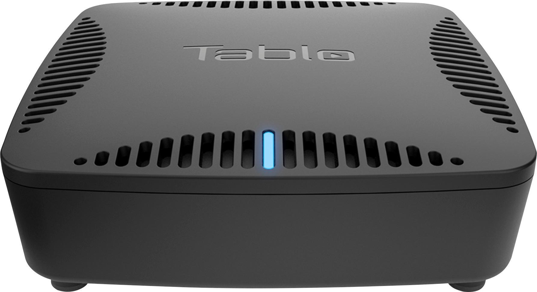 Tablo DUAL 64GB OTA DVR with WiFi Black SPVR2-02-EN
