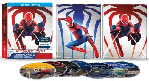 Spider-Man Legacy Collection [SteelBook] [Blu-ray] [Only @ Best Buy] 5872006
