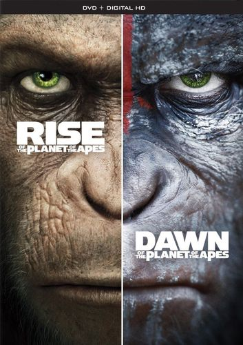 Rise of the Planet of the Apes/Dawn of the Planet of the Apes [DVD] 5873500