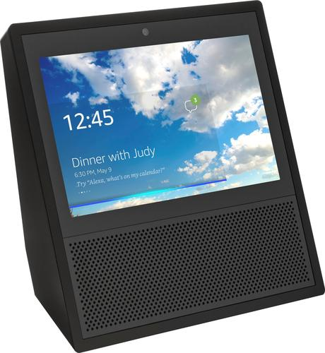 Amazon - Echo Show (1st Generation) - Smart Speaker with Alexa - Black
