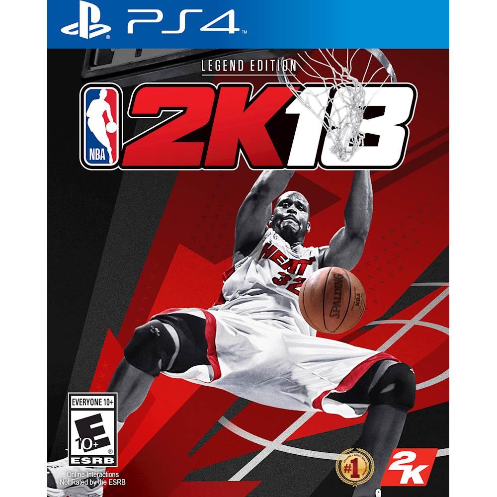 NBA 2K18 Legend Edition – PlayStation 4