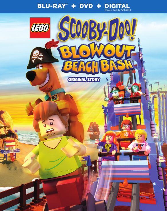 LEGO Scooby-Doo!: Blowout Beach Bash [Blu-ray] [2 Discs] [2017] 5882115