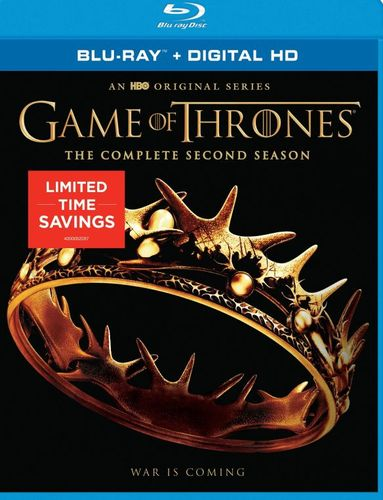 Game of Thrones: Season 2 [Blu-ray] [5 Discs] 5882120