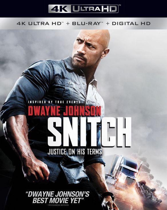 Snitch [Includes Digital Copy] [4K Ultra HD Blu-ray/Blu-ray] [2013] 5883870