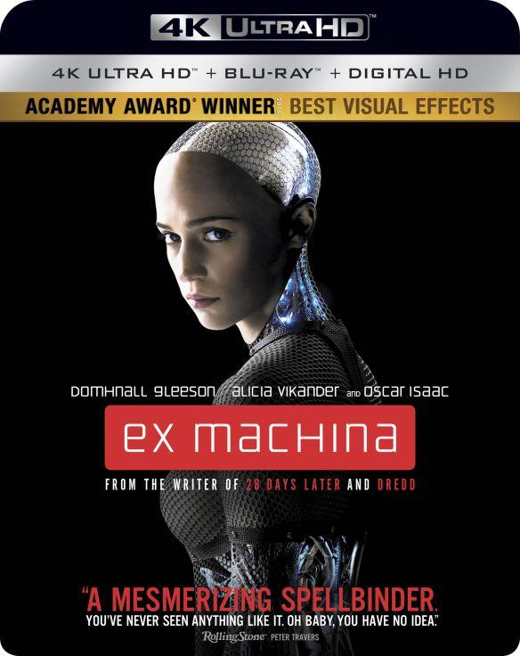 Ex Machina [Includes Digital Copy] [4K Ultra HD Blu-ray/Blu-ray] [2015] 5883871