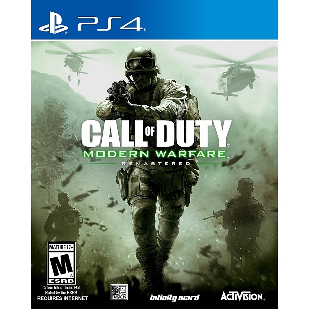 Activision 88074 Call of Duty: Modern Warfare Remastered PlayStation