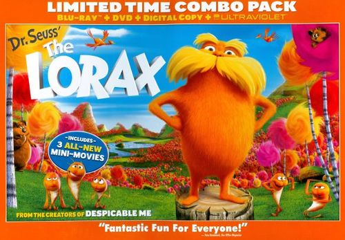 Dr. Seuss' The Lorax [2 Discs] [Includes Digital Copy] [UltraViolet] [DVD/Blu-ray] [Blu-ray/DVD] [2012] 5887559