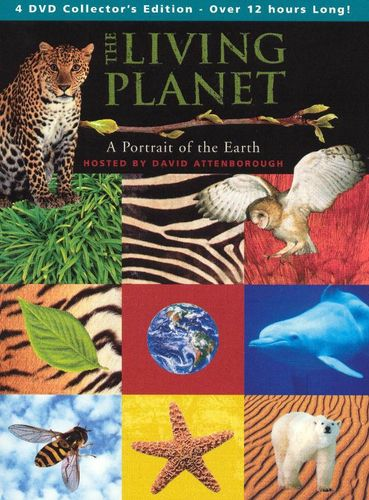The Living Planet [4 Discs] [DVD] 5888006