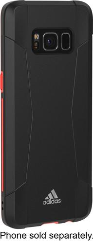 adidas - Solo Case for Samsung Galaxy S8 - Black/Red