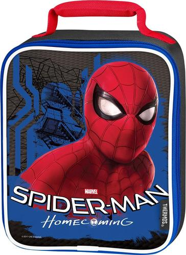 THERMOS - Spiderman Movie Soft Upright Lunch Kit - Black/Red 5888834