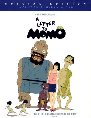 A Letter to Momo [2 Discs] [Blu-ray/DVD] [2011] 5889529