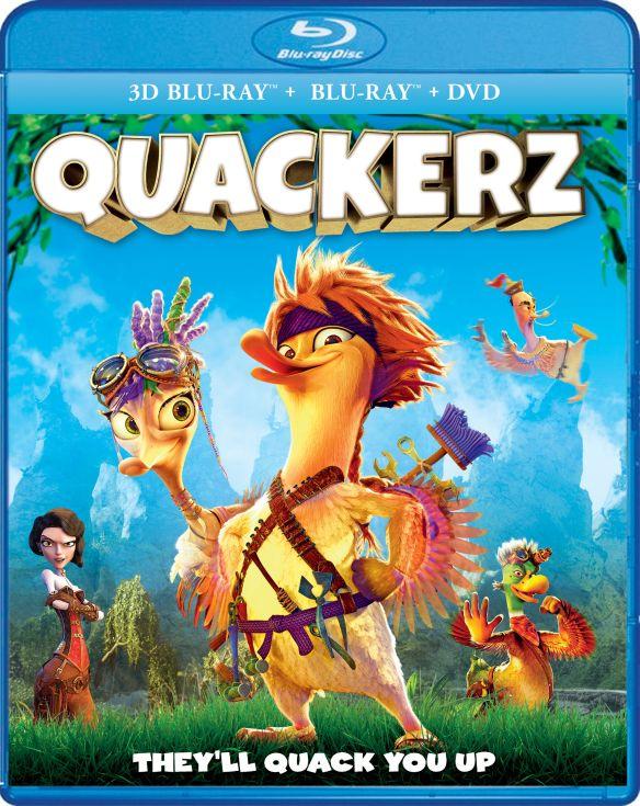 Quackerz [3D] [Blu-ray] [2 Discs] [Blu-ray/Blu-ray 3D] [2016] 5889530