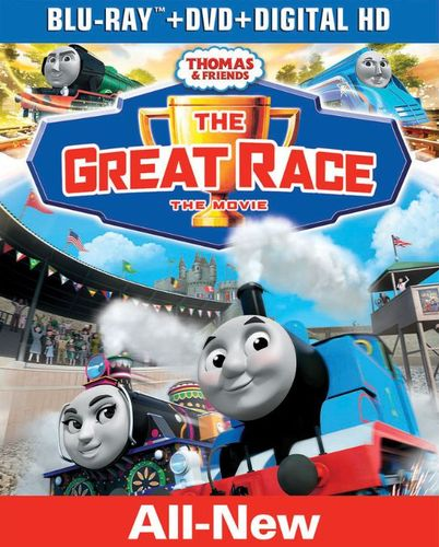 Thomas and Friends: The Great Race [Blu-ray/DVD] [2 Discs] 5889532