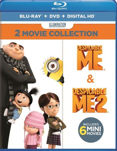 Despicable Me 2-Movie Collection [Blu-ray/DVD] [4 Discs] 5889535
