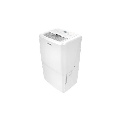 Hisense - 70-Pint Portable Dehumidifier - White 5889552