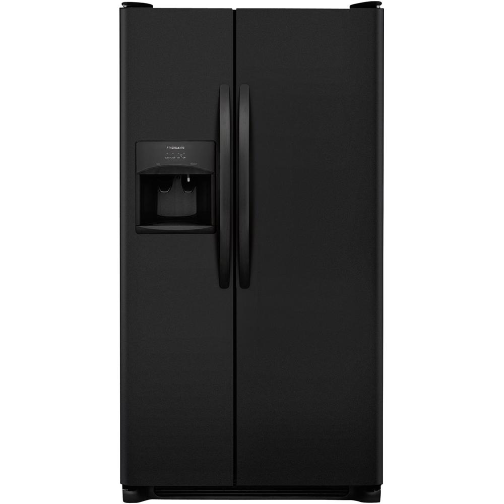 Frigidaire - 25.6 Cu. Ft. Refrigerator - Ebony