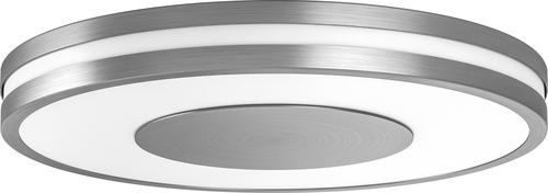 Philips - Hue White Ambiance Being Dimmable LED Smart Flushmount - Aluminum 5890204