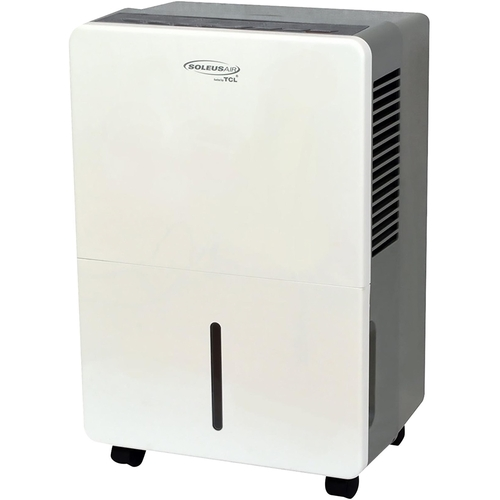 Soleus Air - 30-Pint Portable Dehumidifier - Gray/white 5890302