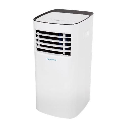 Keystone - 400.4 Sq. Ft. Portable Air Conditioner - White 5890305