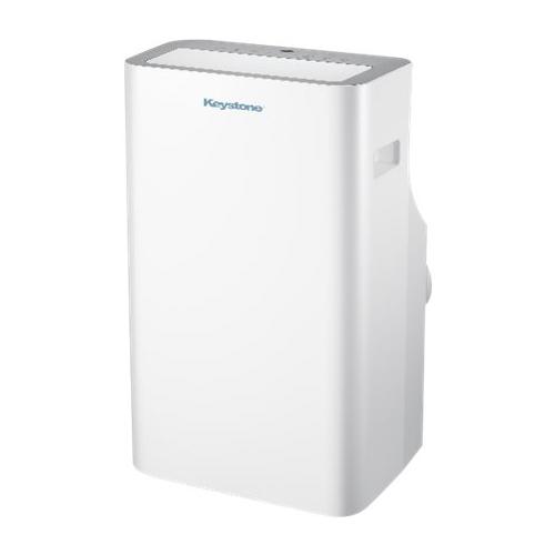 Keystone - 550.0 Sq. Ft. Portable Air Conditioner - White 5890309