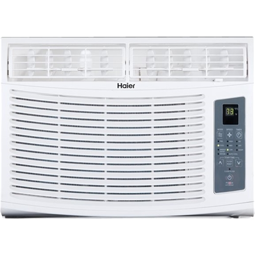 Haier - 10,000 BTU Window Air Conditioner - Gray/white 5890320