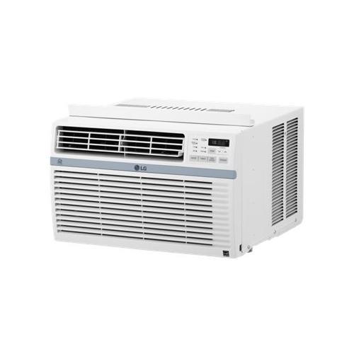 LG - 10,000 BTU Smart Window Air Conditioner - White 5890354