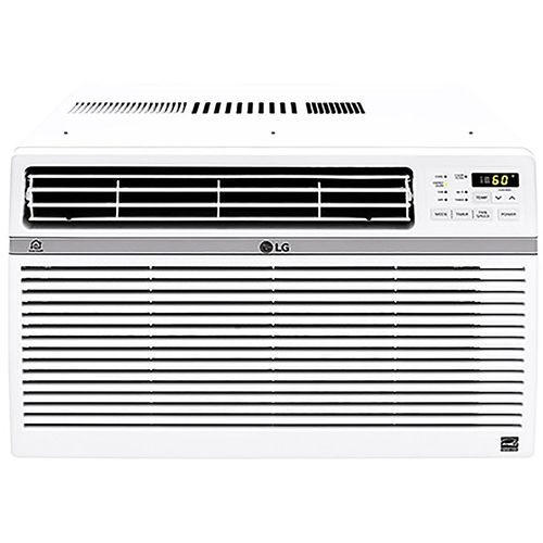 LG - 8,000 BTU Smart Window Air Conditioner - White 5890356